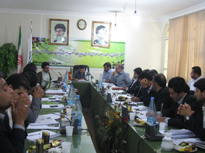 مسئول ستادبازسازی عتبات خوزستان درجمع مدیران پست بانک