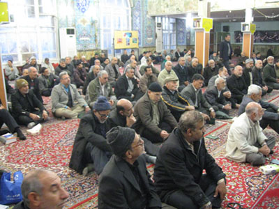 سخنرانی مسئول ستاد عتبات درجمع زیلرت عاشورا مسجد جوادالائمه(ع)