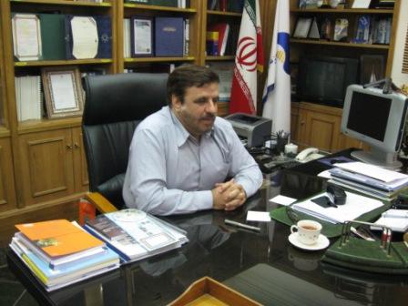 دکتررضا نیا مدیرعامل سازمان آب وبرق خوزستان