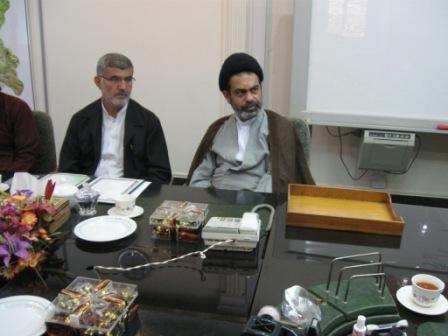 حجه الاسلام موسوی مسئول ستادبازسازی عتبات خوزستان