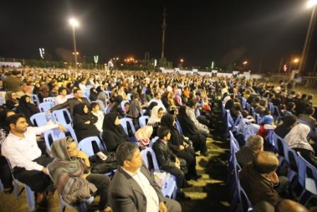 جشن با شکوه غدیرتوسط بسیج شهیدتندگویان وهمکاری ستادبازسازی عتبات خوزستان