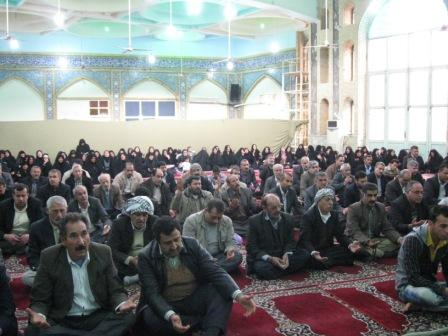سخنرانی حجه الاسلام توکلی در جمع زوار عتبات استان خوزستان